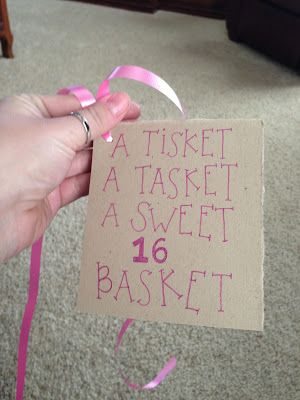 A Sweet Sixteen Basket