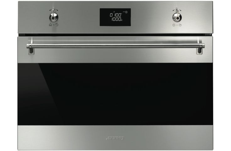 Smeg SFA4390MX 60cm Compact Built In Microwave Oven at The Good Guys