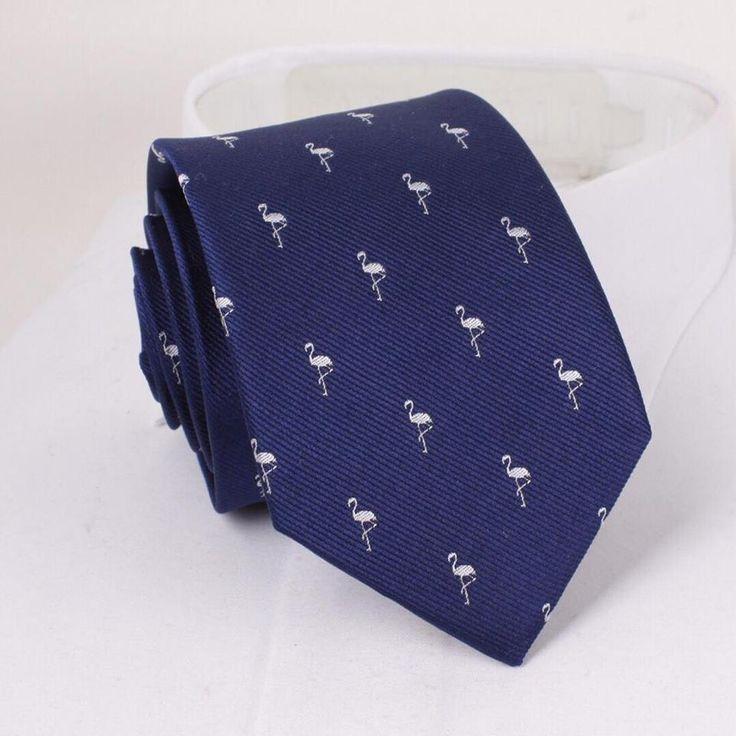 Flamingo Silk Tie