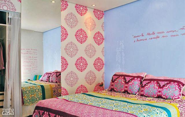 Inspiração décor – quartos coloridos