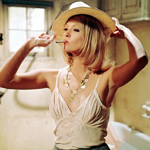 Faye Dunaway 1970's As Bonnie - in the Movie: BONNIE & CLYDE