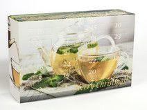 Teeblumen Adventskalender - 24x Teerosen Geschenke