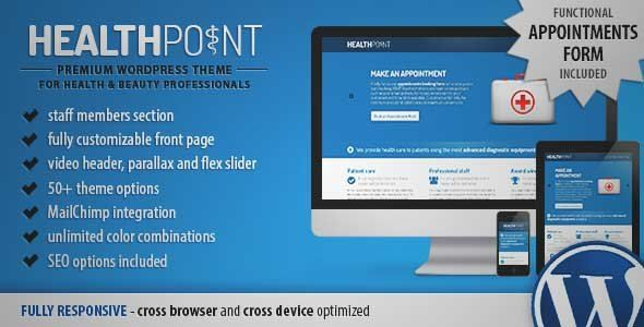 Download and review of Health Point - Responsive WordPress Landing Page, one of the best Themeforest Retail themes {Download & review at|Review and download at} {|-> }http://best-wordpress-theme.net/health-point-responsive-landing-page-download-review/