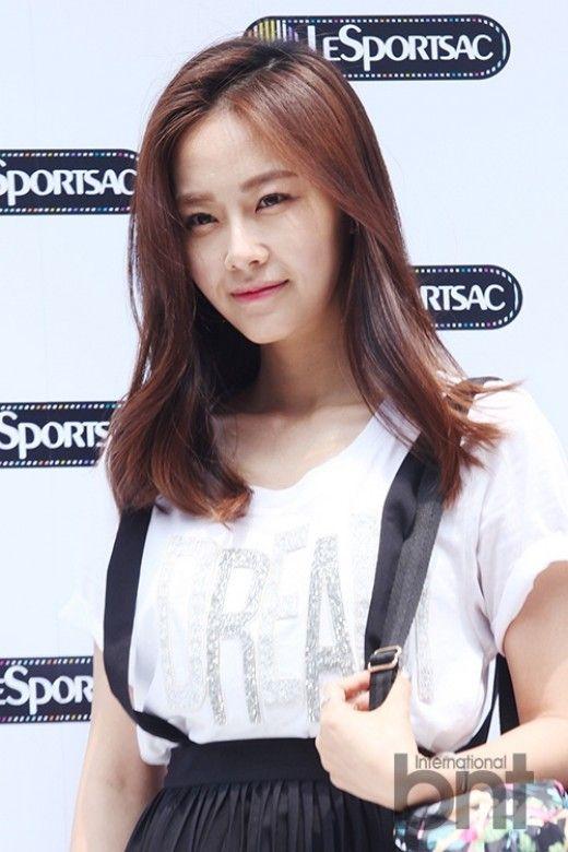 Hong Soo Hyun at LeSport Sac 40th Anniversary Pop-up Store Event, June 18, 2014.