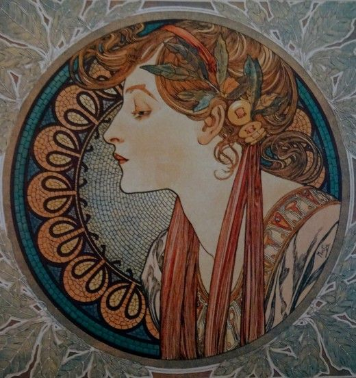 Alfons Mucha at the Gallery of Art, Prague - Image 24