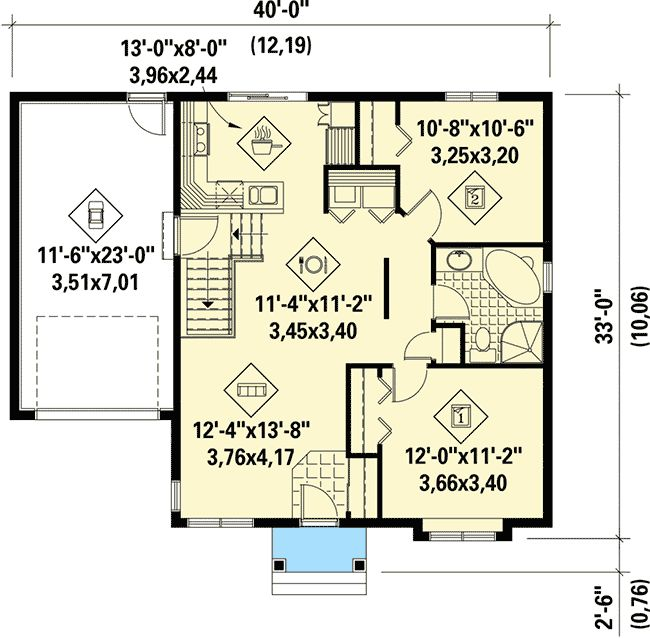 New House Plans 2016 75 best house plans images on pinterest | house floor plans, small