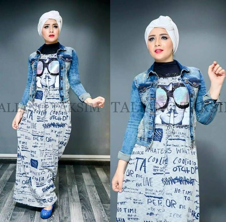 Trendy maxi dress in funky style- hijab spring style- hijab 2016- Turban hijab style- How to get hijab trendy looks http://www.justtrendygirls.com/how-to-get-hijab-trendy-looks/