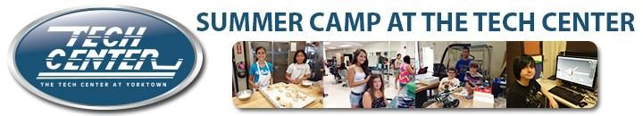 Tech Summer Camps Combine Work with Play  This summer, students ages 12 to 15 can explore a career interest in a fun, creative environment at The Tech Center's summer camps. Campers can choose from 3D printing, animation, architectural design, auto mechanics, babysitter boot camp, beauty, fashion design, game design, hairstyling, law enforcement, computer graphics, runway hair and makeup, save-a-life, spa camp, and sports medicine