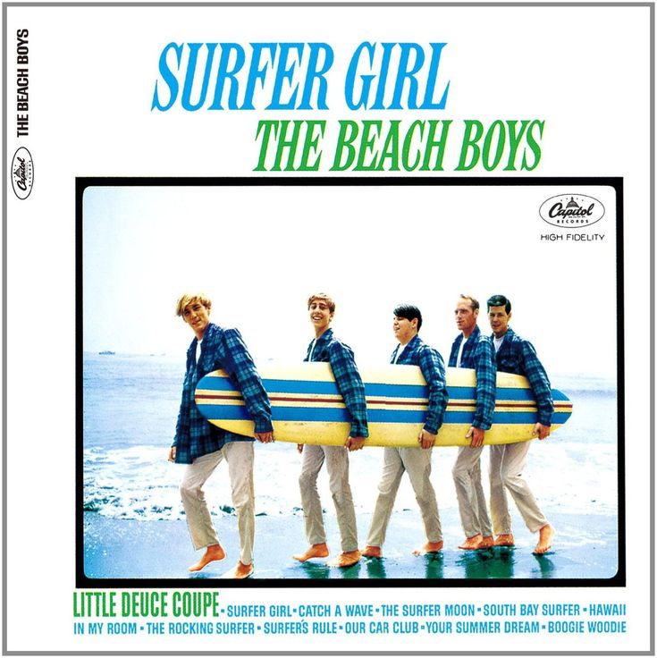 The Beach Boys Surfer Girl on Limited Edition 200g Mono Vinyl LP from Analogue Productions Love The Little Surfer Girl More Than Ever With Analogue Productions' Lovingly Restored Mono LP Reissue of th