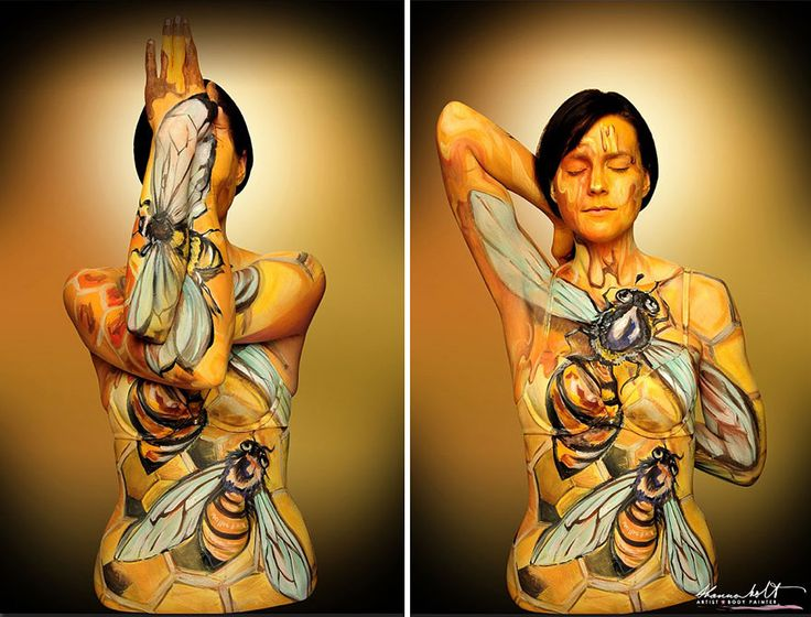 Best The Human Art Form Images On Pinterest Body Paintings - Artist turns humans amazing animal portraits using body paint