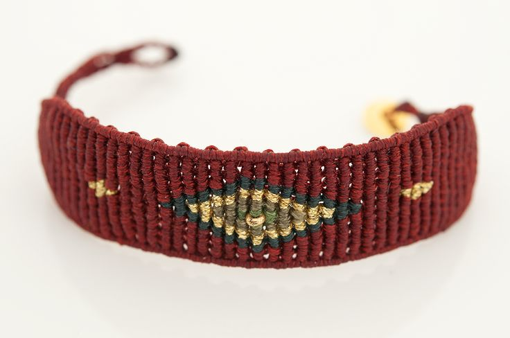 A BEAUTIFUL CUFF EYE, WITH A STUNNING COMBINATION OF COLOURS AND A SILVER 925 CLASP PLATED IN GOLD. More colours at : http://www.zayiana.com/product/eye-cuff/