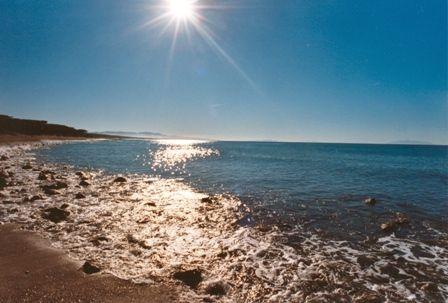 The wonderful sea of #Cecina