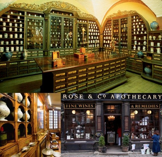 the apothecary museum inside the heidelberg castle | rose & co apothecary london