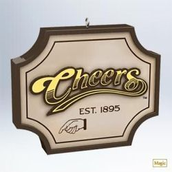 2011 Cheers - Where Everybody Knows Your Name Hallmark Ornament | The Ornament Shop
