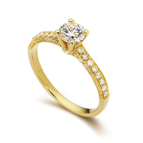 0.30 CARAT SOLITAIRE DIAMOND RING