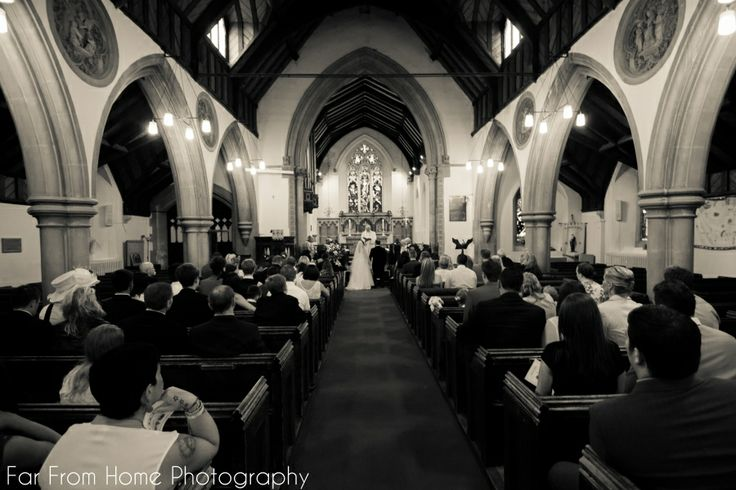 We love the venues you get married in...this church was beautiful