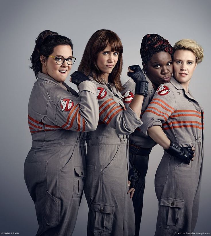 Ghostbusters (2016)  Still think it's an awesome idea ....so there haters :) and yes i watched the original in the theater