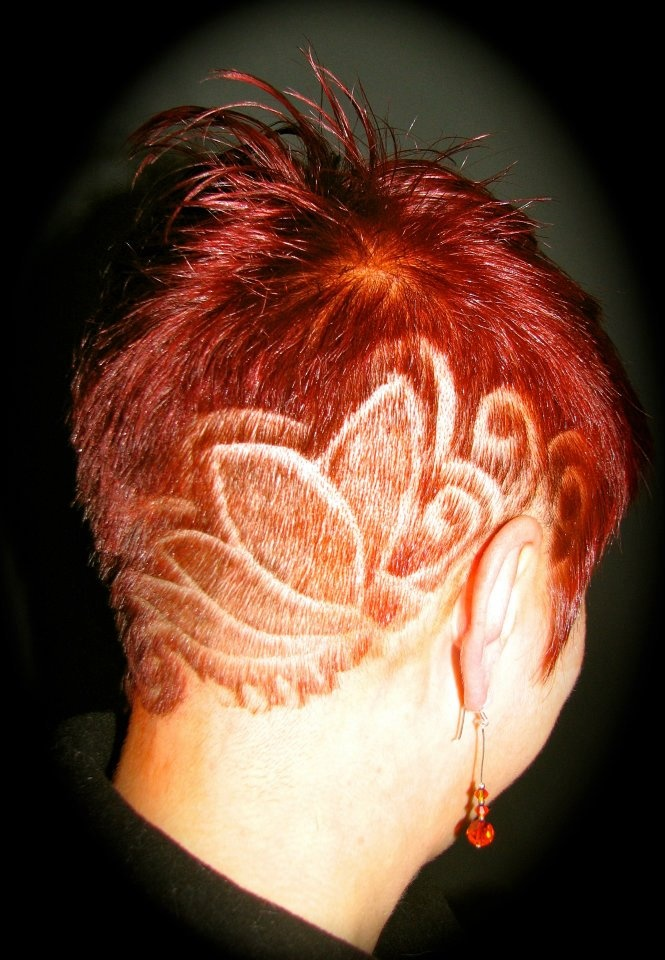 hair tattoo designs for women - photo #28