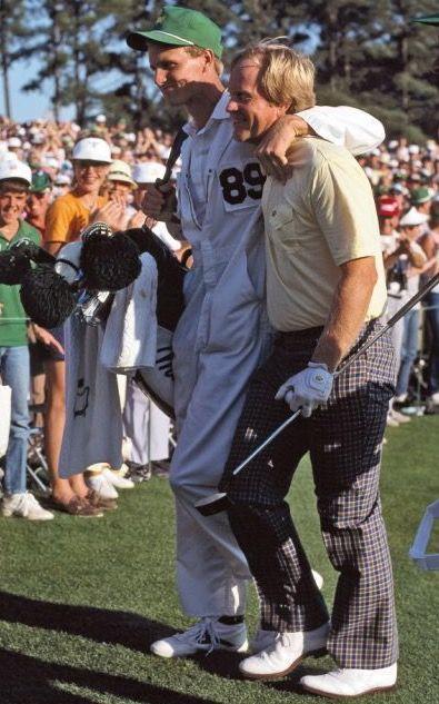 Jack and Jackie Nicklaus 1986 Masters