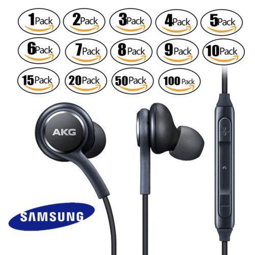 Oem Samsung S9 S8 Note 8 Akg Earphones Headphones Headset Ear Buds