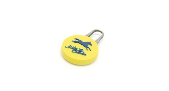 PVC rubber zipper puller