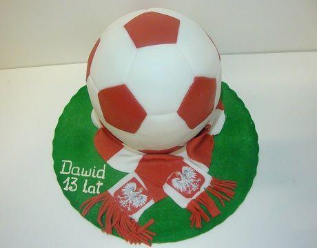 Torty Kraków Cukiernia Gateau Tort piłka z szalikiem #torty #tortykraków #kraków #cukiernia #gateau #cukierniagateau #urodziny #tortyurodzinowe #tortydladzieci
