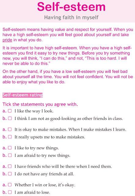 Ms. Sepp's Counselor Corner: Body Image & Self Esteem in Girls 6th grade lesson