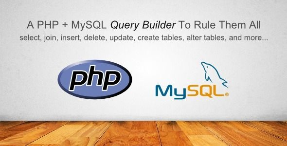 PHP MySQL Query Builder Library