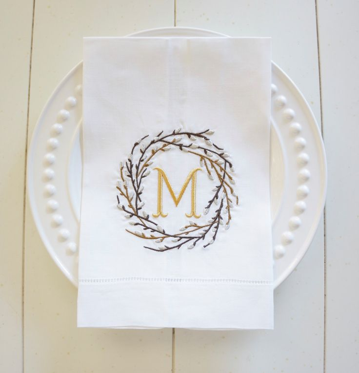 25 Best Monogram Towels Ideas On Pinterest Monogrammed Hand Towels Htv Vinyl Ideas And Beach