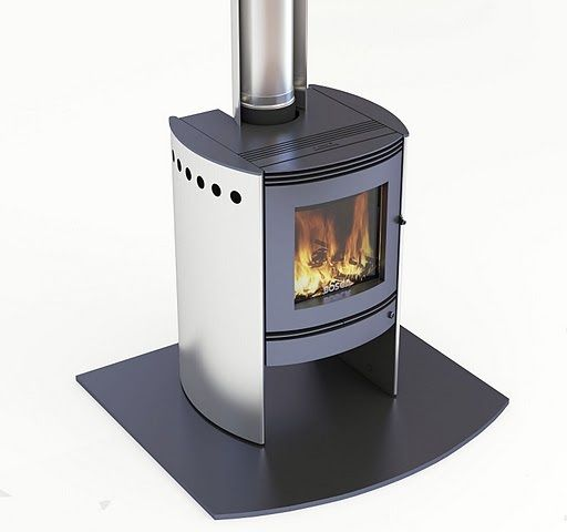 The Spirit 550 is designed specially for large modern homes that need warm air circulating through a number of rooms. This sophisticated fire takes its design cues from the top European styles, with curved sides over the traditional square box.   The Spirit is the perfect fire when looks and performance need to go hand-in-hand.