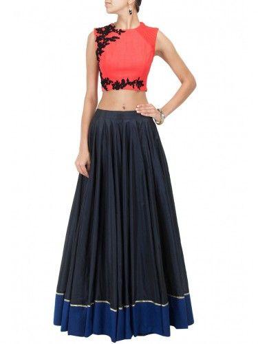 Buy Western Bollywood Designer #Lehenga