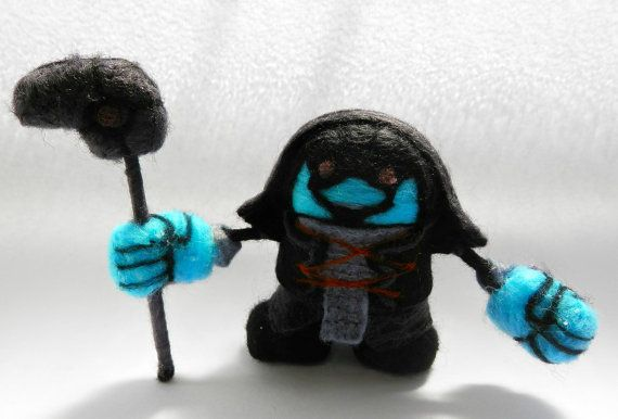 Ronan the Accuser  Guardians of the Galaxy: 8 cm. by WoollyWonkers