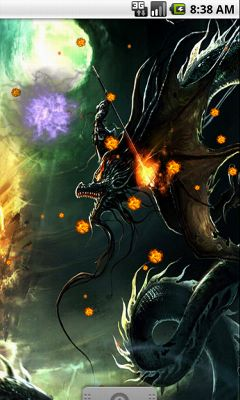 Fire Dragon Cool Live Wallpaper   Entertainment   Samsung Apps   Samsung Content & Services