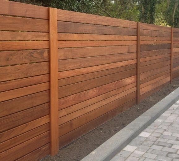 Horizontal Wood Fence Panels Fence Ideas Fence Panels Modern