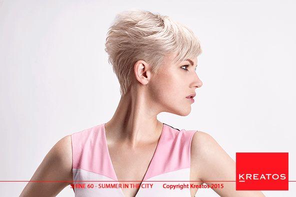 Kreatos kapsels voor vrouwen 2015 -Summer In The City - haar kort wit/grijs