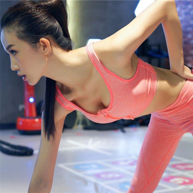 2017 Newest Sexy 2 piece set women legging and crop top Bra Yoga Set womens Sports wear fitness sports set women gym suit girls