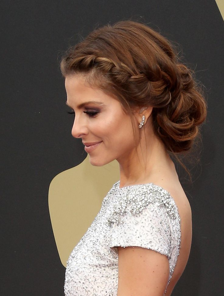 50 Gorgeous Party Hair ideas for New Year's Eve - braided chignon updo