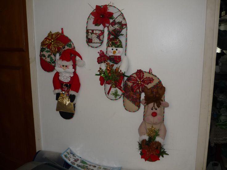 Apagadores de navidad en fieltro imagui - Decoracion navidena fieltro ...