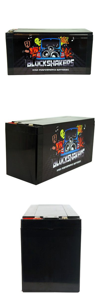 Other Car Audio: Black 16V 30Ah (2000 Watts) High Performance Car Audio Battery BUY IT NOW ONLY: $149.75
