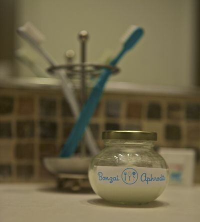 Natural Homemade Toothpaste