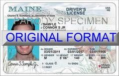 state of maine drivers license requirements