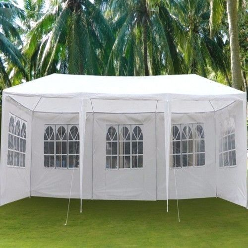 #Wedding #Tent 10x30 White #Patio #Gazebo #Waterproof #Garden #Canopy 5 Sides #Cater New #sales #summer #ebay #usa #patio #groom #bride #ceremony #celebration #decor
