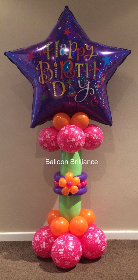 50th Birthday Balloons Delivery