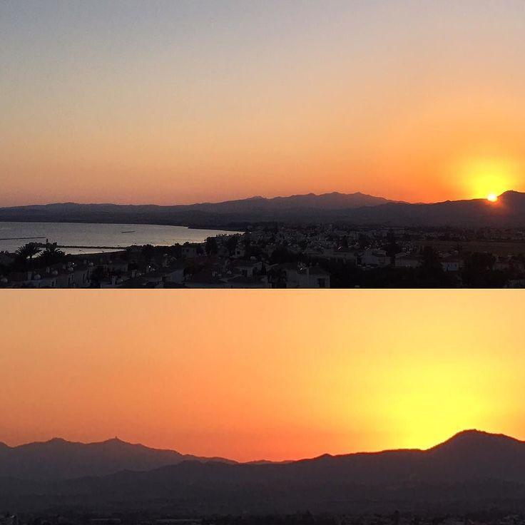 Freue mich es rechtzeitig zur Hochzeit von Kathi & Stefan geschafft habe! Kaiserwetter mit genialen Sonnenuntergang nach der Trauung! Freue mich sehr für die beiden! #livinginparadise #begrateful #lebeseelischeidentität #cyprus #wedding