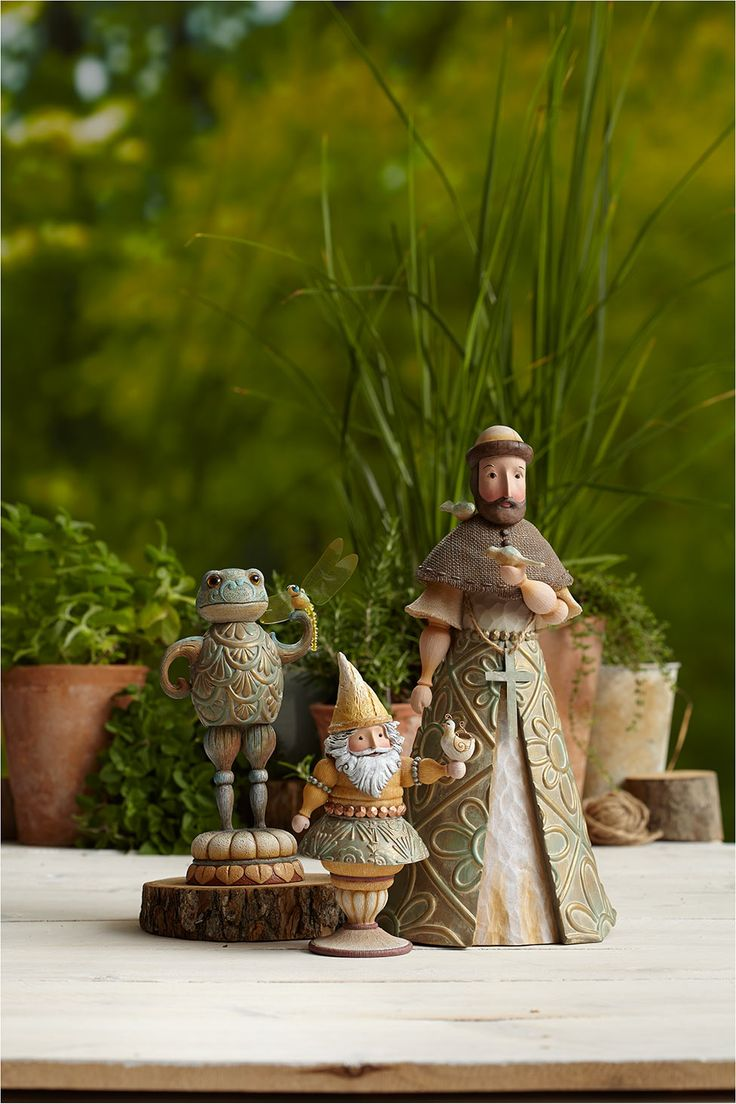 Great new garden items from Jim Shore.