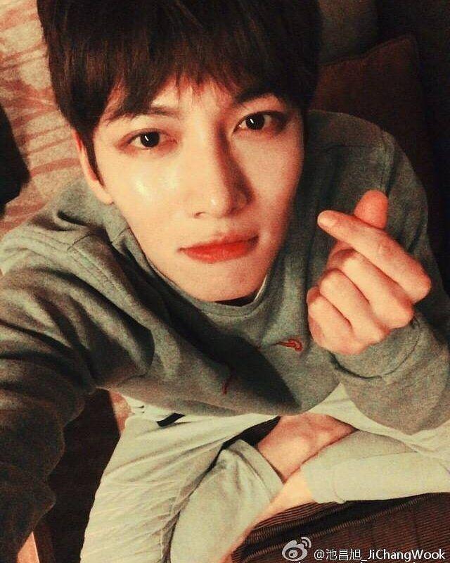 2016.01.23 Ji Chang Wook weibo update ^_^ love #jichangwook #지창욱