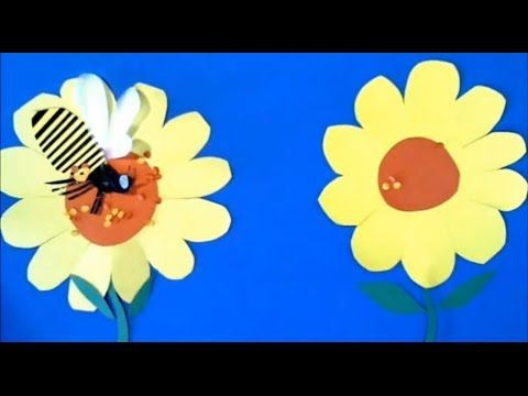 """Pollen"" ... A stop-motion animation video by Lucas Miller. Pollination Nectar for kids - YouTube"