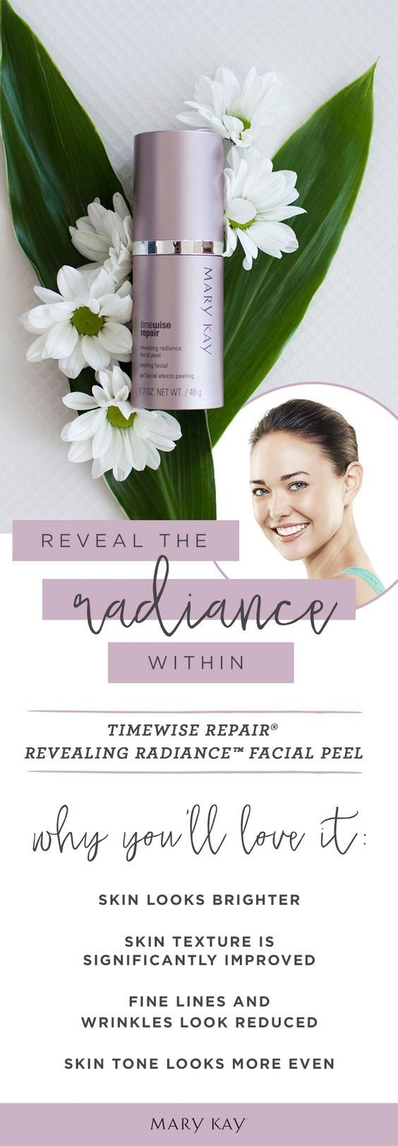 My Favourite new Product from Mary Kay Canada - Time Wise Repair glycolic facial peel!! <3 www.marykay.ca/jmainland