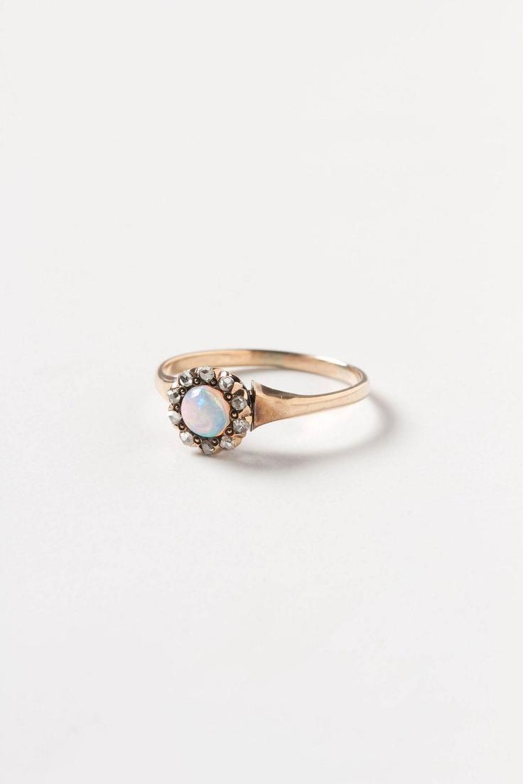 Opal Flower Ring - Anthropologie.com