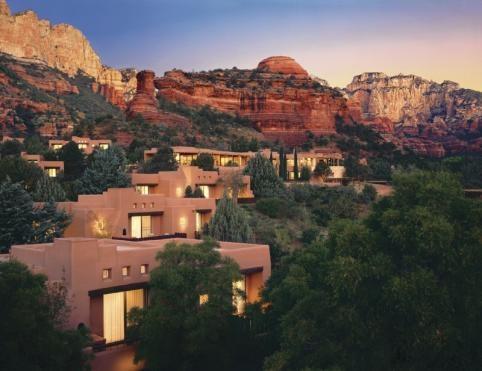 Mii Amo/ Enchantment resort in Sedona, Arizona
